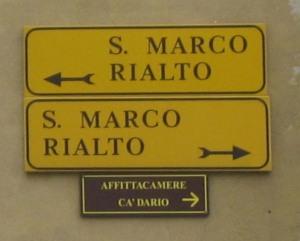 Venice signs